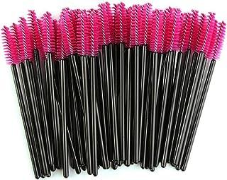 50 Pieces Disposable Eyelash Mascara Brushes Makeup Tool Kits