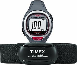 Timex Unisex fácil Trainer Analog HRM Flex Tech Correa en el pecho y tamaño mediano