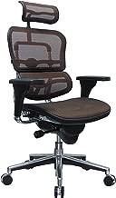 Eurotech Seating Ergohuman ME7ERG-ORANGE(N) High Back Mesh Managers Chair, Orange