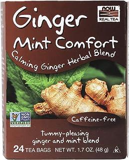 Now Foods Ginger Mint Comfort Tea, 48g