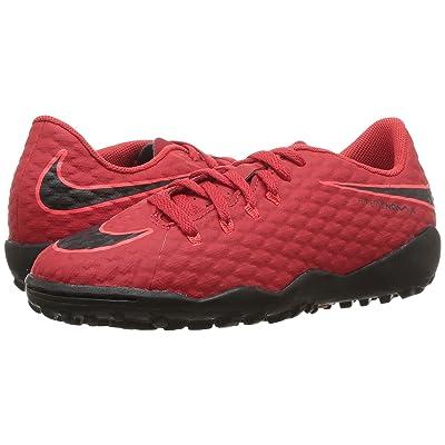 Nike Kids Hypervenom Phinish II AF Soccer (Little Kid/Big Kid) (University Red/Black/Bright Crimson) Kids Shoes