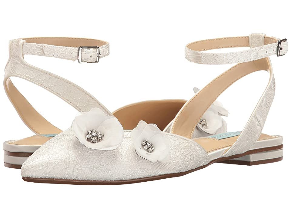 Blue by Betsey Johnson Willa (Ivory Satin) Women