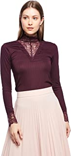 ONLY L/S Tops For Female, Potent Purple, S