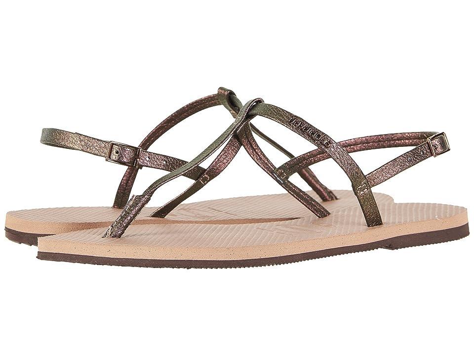 Havaianas You Riviera Sandals (Rose Gold) Women