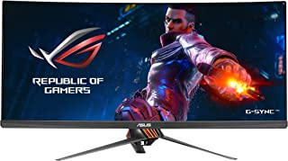 ASUS ROG Swift PG348Q 34in 21:9 3440x1440 IPS 100Hz G-SYNC Eye Care Gaming Monitor with DP and HDMI Ports (Renewed)