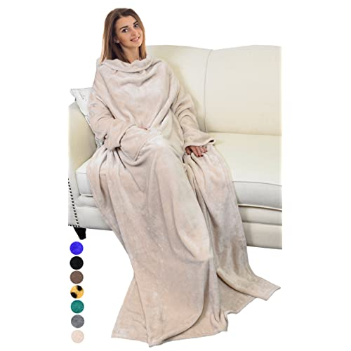 Catalonia Platinum Blanket with Sleeves 0a176a9e7