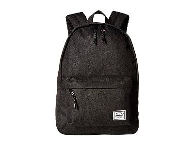 Herschel Supply Co. Classic Mid-Volume (Black Crosshatch) Backpack Bags