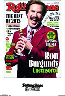 Trends International Rolling Stone Ron Burgundy Wall Poster 22.375