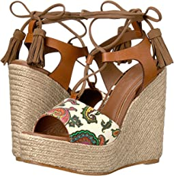 Paisley Wedge Sandal