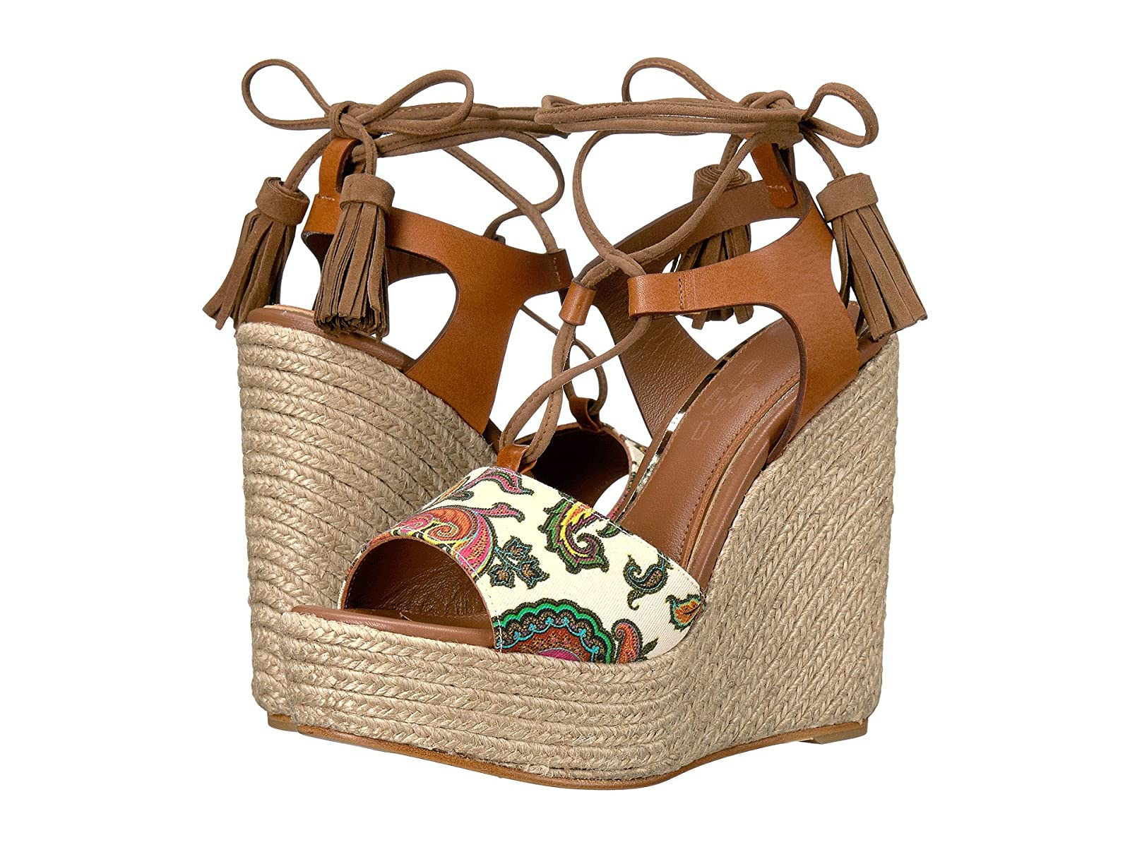 Etro Paisley Wedge SandalCheap and distinctive eye-catching shoes