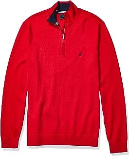 Men's Big and Tall Navtech Quarter-Zip Sweater