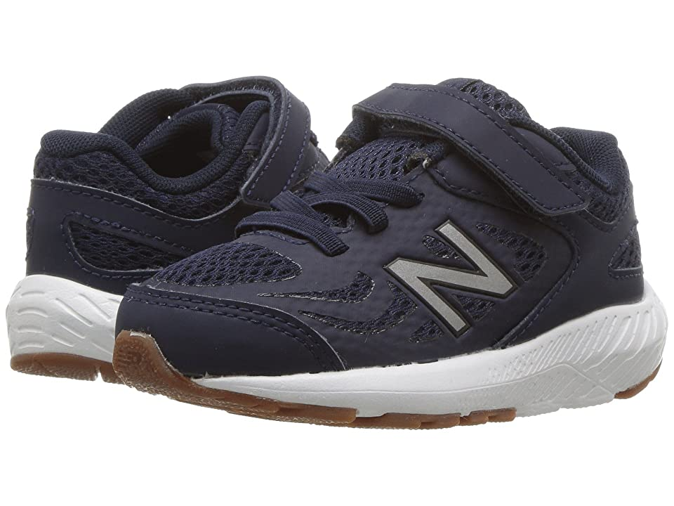 New Balance Kids KV519v1I (Infant/Toddler) (Pigment/Black) Boys Shoes