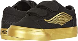 (Harry Potter) Old Skool V Golden Snitch/Black