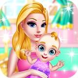 Giochi per ragazze Giochi per bambini Giochi di cura Piccolo bambino Giochi per ragazze Giochi di nascita