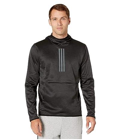 adidas Team Issue 3 Stripe Hoodie (Art 2/Black/Heather/White) Men