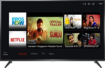 TCL 138.71 cm (55 inches) 4K Ultra HD Smart LED TV 55P65US-2019 (Black) | Built-In Alexa