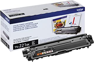 Brother Genuine Standard Yield Toner Cartridge, TN221BK, Replacement Black Toner, Page Yield Upto 2,500 Pages, Amazon Dash...