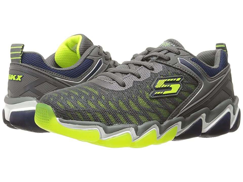 SKECHERS KIDS Skech-Air 3.0 97414L (Little Kid/Big Kid) (Charcoal/Lime) Boy