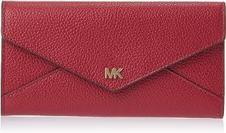MICHAEL KORS Womens Large Slim Env Trifold Wallet, Berry - 34F9GF6E7L