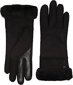 UGG - Exposed Waterproof Sheepskin Tech Gloves with Slim Pile