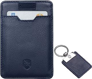 Carteras para Hombre Allen & Mate Delgada Minimalista con Bloqueo RFID, Bolsillo Frontal para Tarjetas de Crédito Billeter...