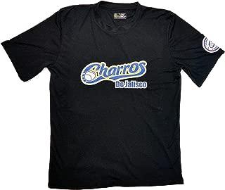 Baseball Men's Slim Fit Jersey Charros de Jalisco (Black)