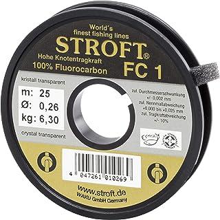 0.360mm-10.4kg WAKU Schnur STROFT FC1 Fluorocarbon 100m