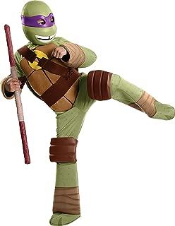 Rubie's Toddler Teenage Mutant Ninja Turtles Deluxe Donatello Costume, 1-2 Years