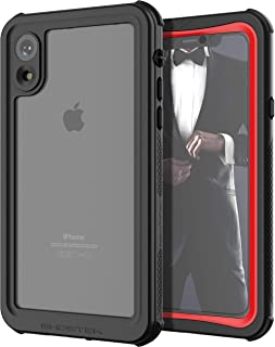 Ghostek Nautical Extreme Waterproof Case Compatible with Apple iPhone XR (2018) - Red