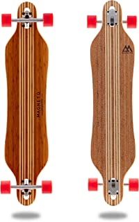 Hana Longboard Collection | Longboard Skateboards | Bamboo with Hard Maple Core | Cruising, Carving, Dancing, Freestyle