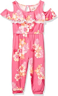 One Step Up Girls' Knit Jumpsuit