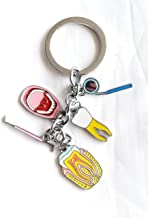 Dental Trinket Key Chain, Dentists and dental health professionals:dental hygienist, dental nurse, dental surgeon.