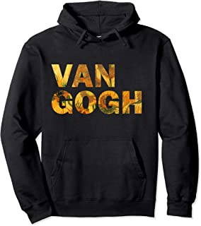 Van Gogh Hoodie, Van Gogh Sunflowers, Men, Women Art hoodie