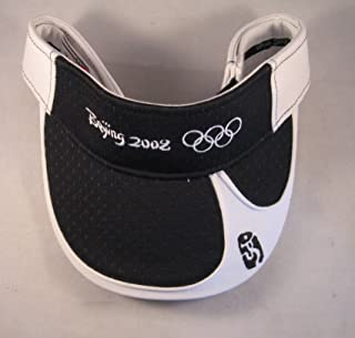 Premium Quality 2008 Beijing Olympics Official Visor Hard to Find Cap Hat Mens Womens Brand New