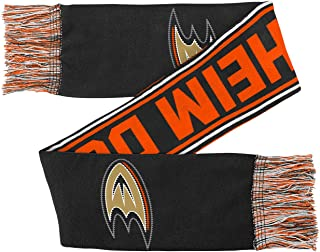 NHL Anaheim Ducks Youth Outerstuff Winter Scarf, Team Color, Youth One Size