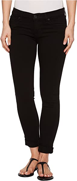 Hudson Tallly Crop Skinny Jeans in Black