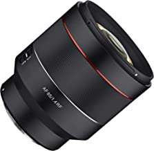 Rokinon AF 85mm F1.4 Weather Sealed High Speed Auto Focus Lens for Canon EOS R Cameras - RF Mount (IO85AF-RF)
