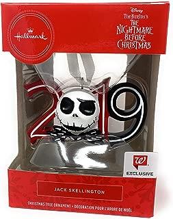Hallmark - Disney Nightmare Before Christmas Jack Skellington 2019 Christmas Ornament 25 Years Anniversary