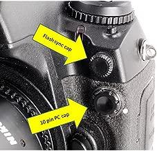 Flash sync cap for Nikon FE, FM FE2, FM2, FM2n F100, N90, N90s, F4, F5, F3, F3hp, D1, D1x, D2x, D2h, D2xs, D200, D300, D700, D3 and D3x cameras