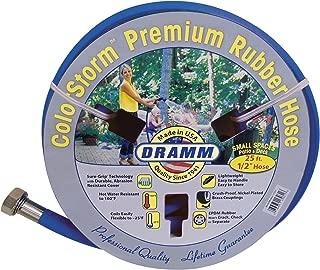 Dramm 17035 ColorStorm Premium Rubber Garden Hose, 1/2