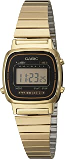 Casio Ladies Gold Vintage  La670Wga-1Ur Watch