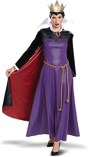 calidad auténtica Disguise Disguise Disguise Deluxe Wohombres Evil Queen Fancy Dress Costume Small  disfrutando de sus compras