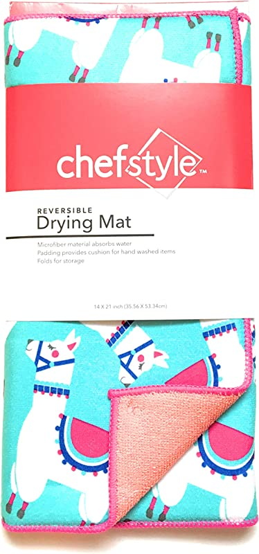 ChefStyle Dish Drying Mat Dish Mat For Kitchen Drying Mat