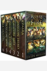 Riders of Fire Complete Series Box Set books 1-6: YA Epic Fantasy Dragon Rider Adventures Kindle Edition