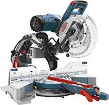 Bosch CM10GD Compact Miter Saw – 15 Amp Corded 10 in. Dual-Bevel Sliding Glide..