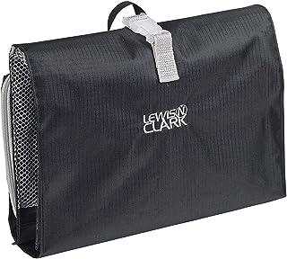 حقيبة أدوات الزينة المعلقة من لويس ان كلارك لملحقات السفر، شامبو، مستحضرات التجميل + العناصر الشخصية مع مساحة تخزين مضادة ...