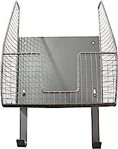 Spectrum Diversified Ironing Board Holder with Storage Basket, Pewter