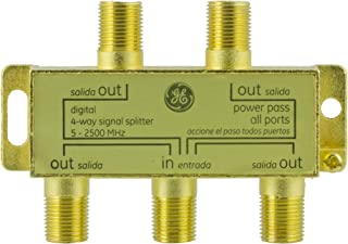 4-3//8 Height Width Morris Products 87172 Satellite 4-Way Switch 6-1//2 Depth 40-2150Mhz