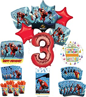 Best incredibles birthday decorations Reviews