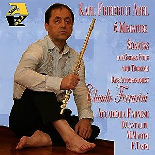 Flauto Miniature Sonatas N.1 in E Moll: III. Minuetto (Accademia Fanese, Tiorba: Diego Cantalupi, Violncello: Mariangela Martini, Cembalo: Francesco Tasini)